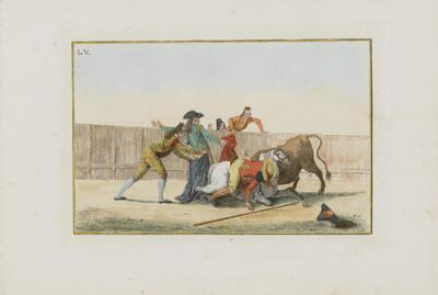 Collection of Principal Moves in a Bullfight: Fall of the Picador