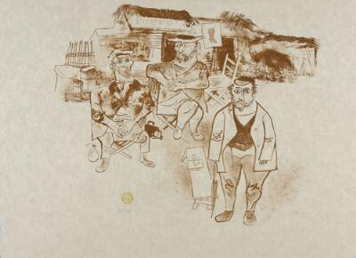 Untitled (The Shtetl II)