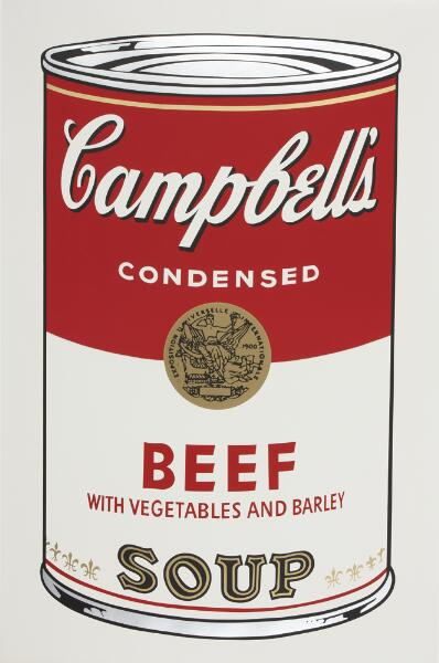 Campbell's Soup I: Beef