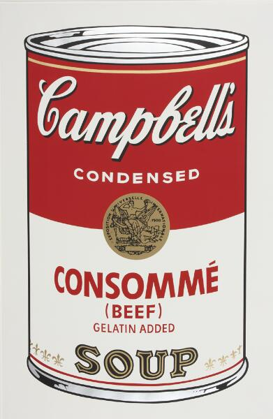 Campbell's Soup I: Consomme (Beef)