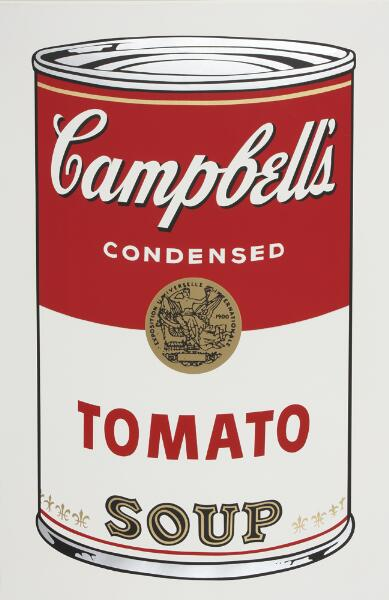 Campbell's Soup I: Tomato