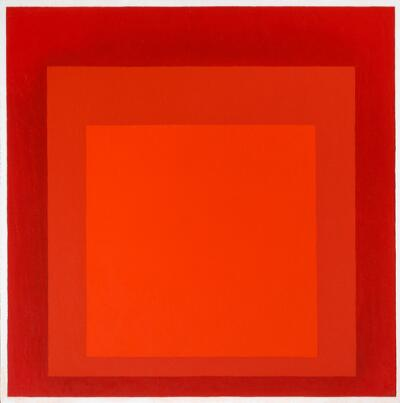 Homage to the Square/Red Series, Untitled III