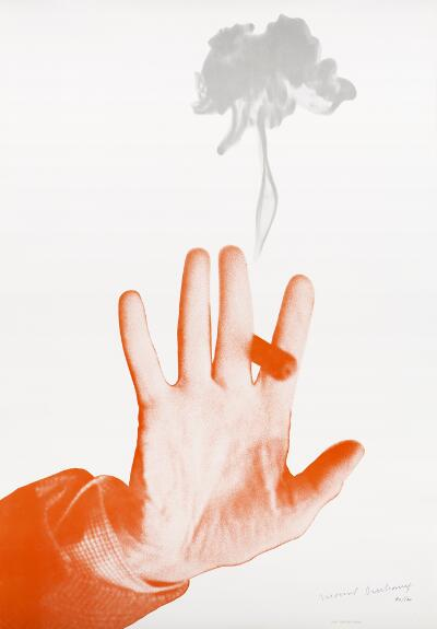 Untitled (Hand and Cigar)