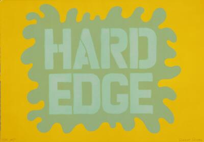 "Hard Edge Image at Least 22 X 30"" in Size"