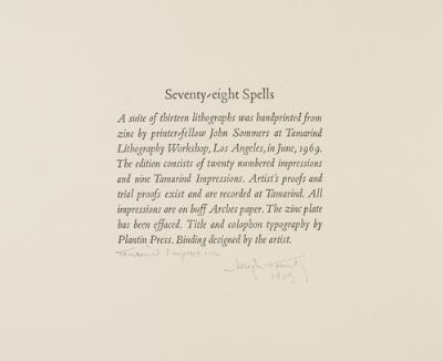 Seventy-Eight Spells