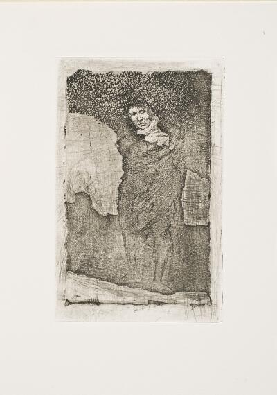 The Bordeaux Etchings: Late Caprichos of Goya: Andalusian Smuggler / The Cloaked Man
