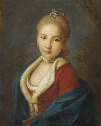 Portrait of Ecaterina Petrovna Holstein-Beck, Later Princess Bariatinsky