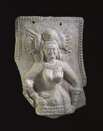 Plaque with Female Deity