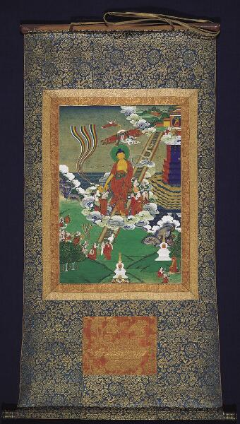 Descent of the Buddha
