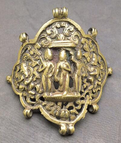 Ornamental Plaque with Rama and Companions