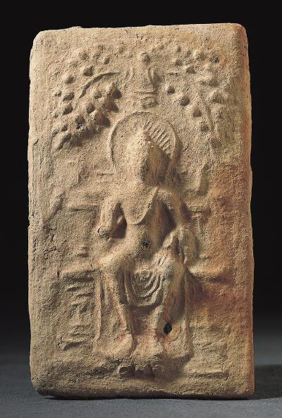 Tablet with Buddha