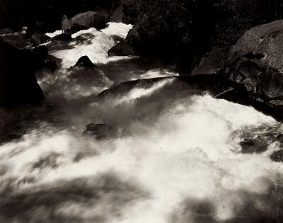 Rapids Below Vernal Falls, Yosemite Valley