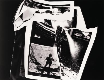 Untitled (Torn Photo Collage)